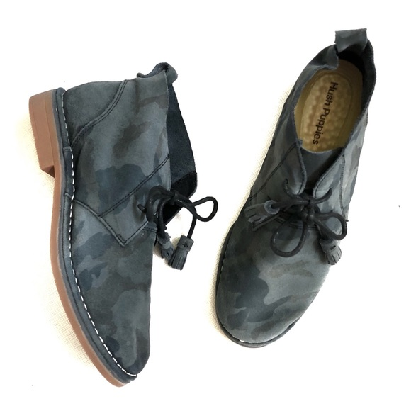 437842a20c0 Hushpuppies Camo Cyra Catelyn Chukka Boot • 8.5 NWT